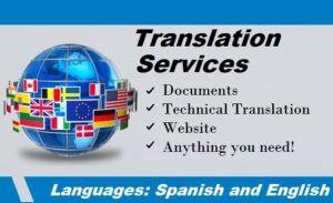 Servicios de traducciones