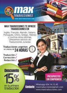 Max Traducciones Agencia de traducciones